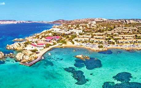 Itálie - Sardinie letecky na 15 dnů, all inclusive