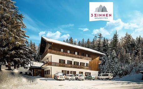 6denní Tre Cime se skipasem | Hotel Casa Alpina** | Doprava, ubytování, polopenze