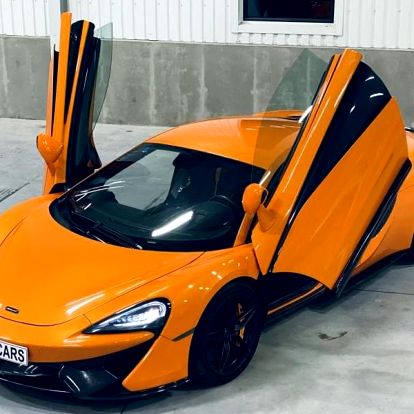 Jízda v supersportu McLaren 570S