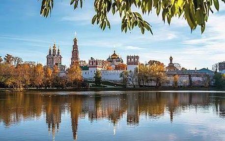 Rusko - Moskva letecky na 7 dnů, strava dle programu
