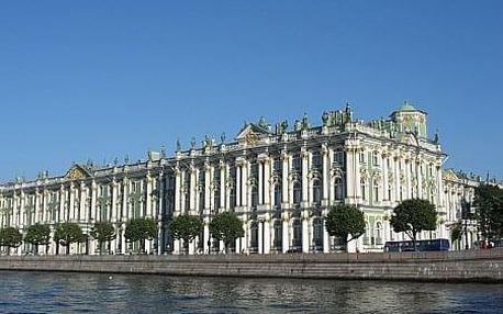 Rusko - Petrohrad letecky na 4 dny, snídaně v ceně
