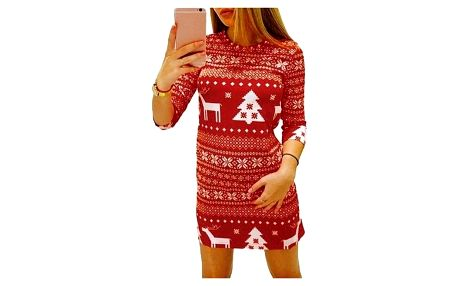 Vánoční šaty - 2 varianty - dodání do 2 dnů