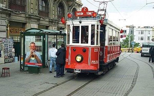 Istanbul – Město dvou kontinentů, Poznávací zájezdy - Turecko, letecky, snídaně v ceně3