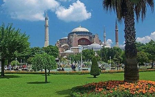 Istanbul – Město dvou kontinentů, Poznávací zájezdy - Turecko, letecky, snídaně v ceně4