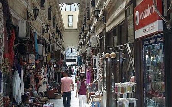 Istanbul – Město dvou kontinentů, Poznávací zájezdy - Turecko, letecky, snídaně v ceně5
