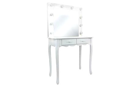 Toaletní kosmetický stolek Vintage 80x40x140cm se zrcadlem