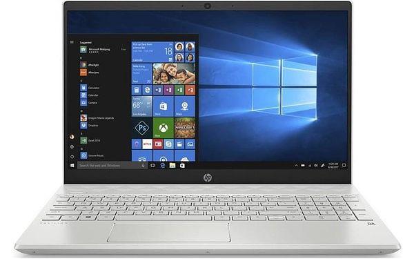 Notebook HP Pavilion 15-cw1000nc bílý (6WJ09EA#BCM)