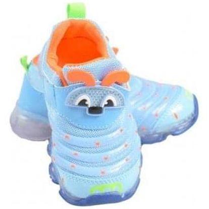 Dětské tenisky blikající modré (brouček)