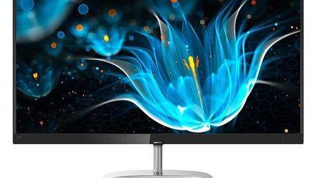 Monitor Philips 276E9QDSB černý/stříbrný (276E9QDSB)