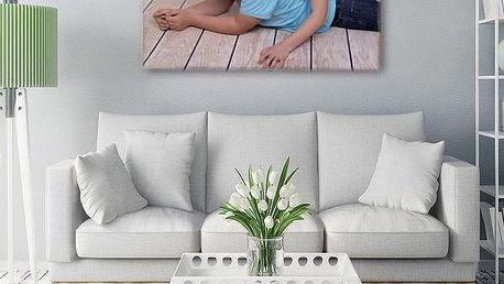 Fotoobraz na plátně na šířku, barevný