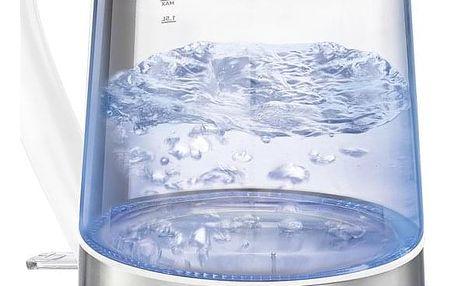Rychlovarná konvice Tefal GLASS KI730132 sklo