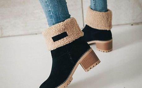 Dámské zimní boty Erta - dodání do 2 dnů