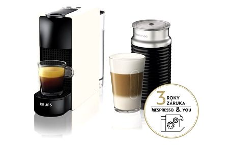 Espresso Krups Nespresso Essenza mini XN111110 bílé