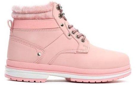 Dámské růžové kotníkové boty Journey 008