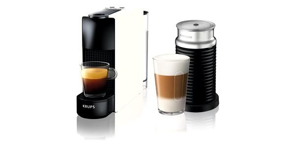 Espresso Krups Nespresso Essenza mini XN111110 bílé2