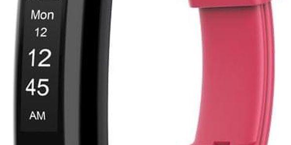 Fitness náramek Umax U-Band 120HR (UB517) červený2