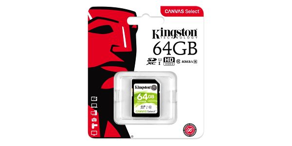 Paměťová karta Kingston SDXC 64GB UHS-I U1 (80R/10W) (SDS/64GB)5