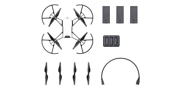 Dron Ryze Tech Tello Boost Combo černý/bílý4