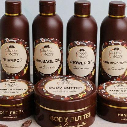 Čokoládová kosmetika pro omlazení pokožky s osobním odběrem v Praze