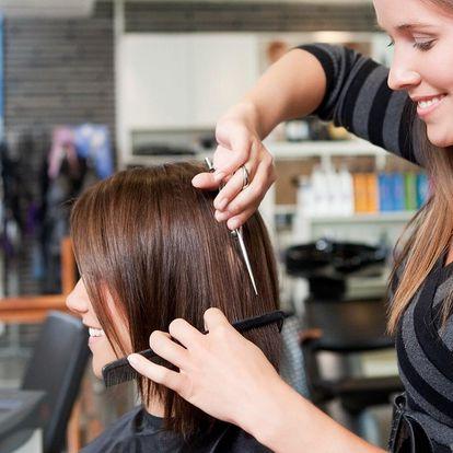 Ošetření vlasů Olaplexem vč. střihu a barvy