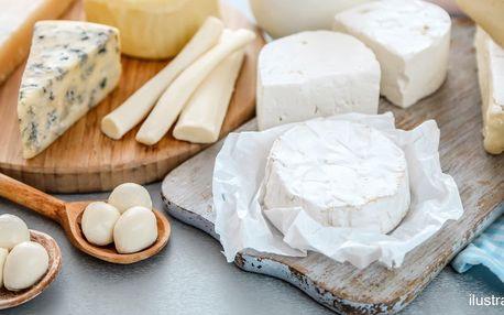 Dárkový poukaz na kurz výroby sýrů dle výběru