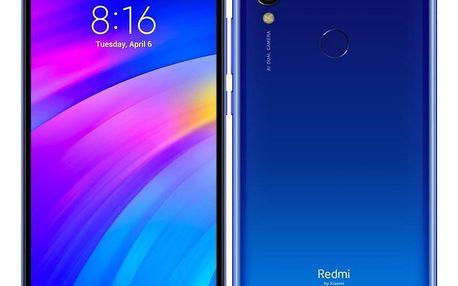 Mobilní telefon Xiaomi Redmi 7 64 GB Dual SIM modrý (22371)