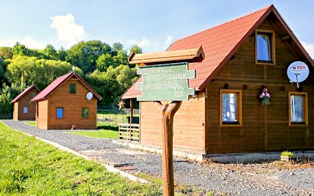 Dřevěný srub pod Tatrami: až 8 dní odpočinku