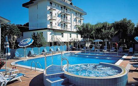 Itálie, Emilia Romagna | Hotel Fabio*** 150 m od pláže | Dítě do 12 let zdarma | Venkovní bazén a vířivka