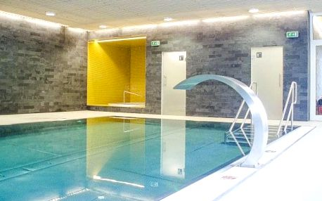 Vysočina u skiareálu v Hotelu SKI *** s polopenzí a wellness s bazénem