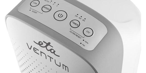 Čistička vzduchu ETA Ventum 1569 90000 bílá + DOPRAVA ZDARMA3
