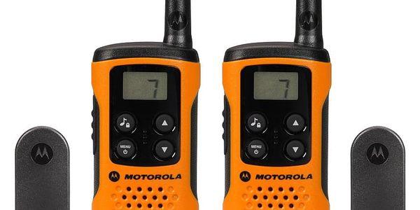 Vysílačky Motorola TLKR T41 (P14MAA03A1BJ) oranžové2