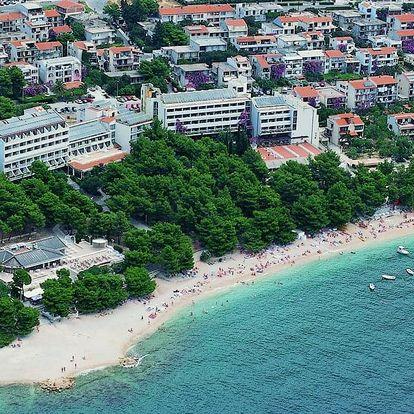 Chorvatsko - Makarska na 4 dny, polopenze