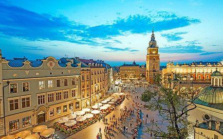 Krakov v hotelu nedaleko centra města se snídaní + termíny do prosince 2020