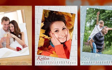 Nástěnný fotokalendář z vlastních fotografií