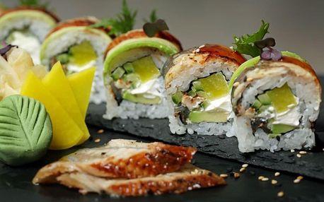 Sushi degustační menu pro 2 osoby v Café Buddha