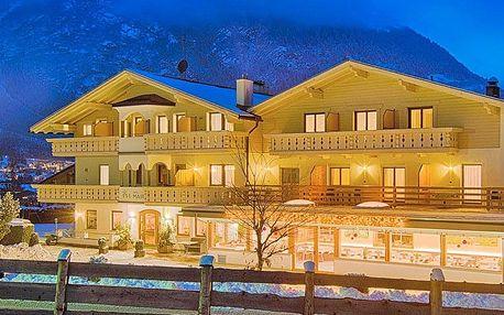 Jižní Tyrolsko v hotelu s neomezeným vstupem do wellness, lahví vína a polopenzí