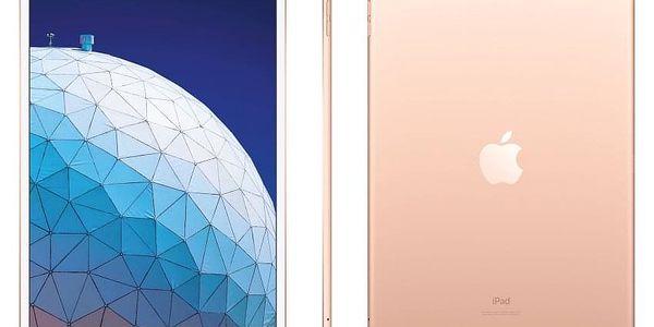 Dotykový tablet Apple Air (2019) Wi-Fi + Cellular 64 GB - Gold (MV0F2FD/A) + DOPRAVA ZDARMA5