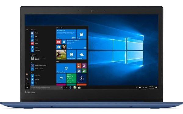 Notebook Lenovo S130-14IGM modrý + MS Office 365 pro jednotlivce (81J200DWCK)