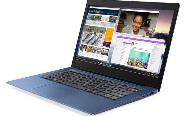Notebook Lenovo S130-14IGM modrý + MS Office 365 pro jednotlivce (81J200DWCK)5