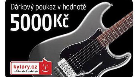 Kytary.cz 5000 Kč
