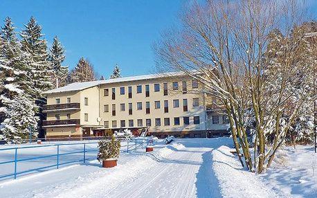 Vysočina v hotelu nedaleko Toulovcových Maštalí s relax procedurami a polopenzí + 2 děti zdarma
