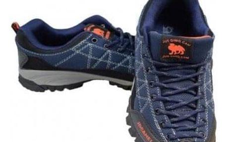 Trekové boty modré vel.41