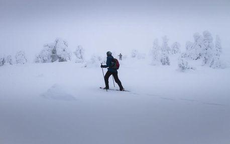 Horská túra na sněžnicích