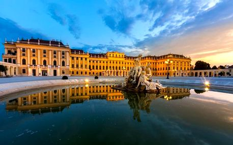 Vídeň a Schönbrunn, Vídeň
