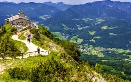 Telč, Huloboká n. Vltavou, Orlí hnízdo, Königssee, Bavorsko