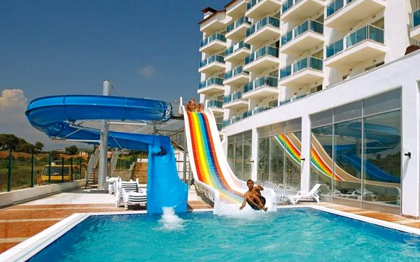 CENGER BEACH RESORT, Side, letecky, all inclusive2