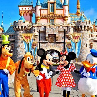 Výlet do Disneylandu a Paříže na otočku