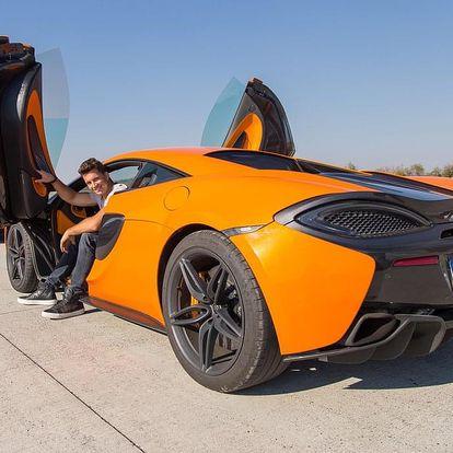Jízda v McLaren 570S