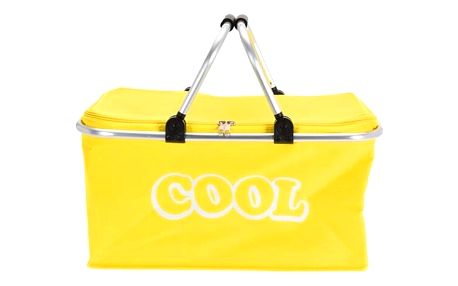 Koopman Chladicí košík žlutá, 48 x 28 x 24 cm