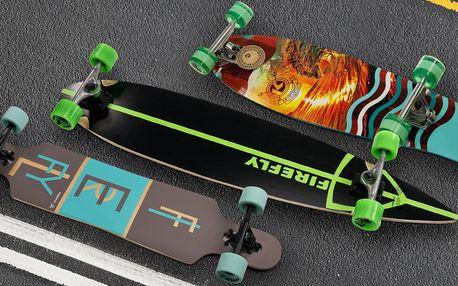 Stylové longboardy z kvalitního kanadského javoru